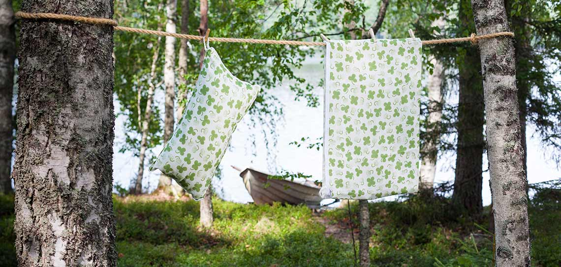 Wild clover linen products