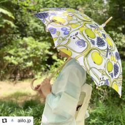 #Repost @aiilo.jp • • • • • • . 〜北欧の涼〜  上品な美しさ、素材を愉しむ大人のパラソル  北欧フィンランドを代表するビルガー•カイピアイネンのアートデザインを上質なオーガニック生地に落とし込み、伝統工芸と融合したパラソルです。  職人が手間と時間をかけ 1つ1つを丁寧な京都技法の手作業で仕上げた、老舗ならではの洗練された美意識が表現されています。  手元は天然木の仕上がりで滑らかな持ち味があり、 麻は天然素材の中でも丈夫で夏の暑さでも優れた清涼感を感じられます。  UV加工や防水加工をすることにより、 重さと生地の質感が変わるため、麻本来の風合いを活かすためにそれらの加工は施しておりません。  自然な風合いをお楽しみいただき、 京都伝統文化とフィンランドアートの歴史を感じていいただけたらと思います。 #kuovi #finland #ビルガーカイピアイネン⠀#日傘 #北欧デザイン #京都伝統工芸 #美しいものでできている  #夏着物コーデ #靭公園 #Aiilo #birgerkaipiainen #design #textile #orchard #colorful #japan #handmade #umbrella  #parasol
