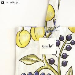 #Repost @aiilo.jp • • • • • • Kuovi  Eco bag orchard  colour/colorful  design from Finland 🇫🇮  Made in Japan   Aiiloからシンプルなエコバッグの発売です✨  別注生地を使用した、大胆なカットが魅力的なオーガニックリネンのマチ付きバックです。柄の出方は1点1点違い、オリジナリティ溢れるファッションバックです。  #kuovi #BirgerKaipiainen #finland #ビルガーカイピアイネン⠀#design #art #北欧デザイン #エコバッグ#北欧のエコバッグ#オーガニックリネン#アイイロ  #Aiilo  お問い合わせはストーリーからお気軽にどうぞ𓂃 𓈒𓏸𓅩
