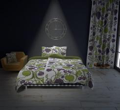 Birger Kaipiainen suunnitteli rakastetun Tarha-koristeen vuonna 1969. Tarha-tekstiilimme ovat nyt saatavilla myös hänen kaksi vuotta myöhemmin suunnittelemallaan alkuperäisellä purppuravärityksellä!  Orchard textiles now available also in original purple coloring from year 1971! #birgerkaipiainen #scandinavian #finnish #design #textile #luxury #bed #lifestyle #orchard #purple #colorful #dff #madeinfinland#avainlippu #kuovi www.kuovi.fi/tarha-purppura
